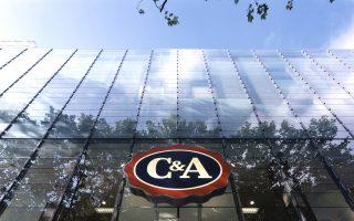 Neues Gewand des C&A Wiesbaden