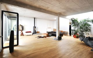 Wohnen und Arbeiten im Hinterhof-Loft